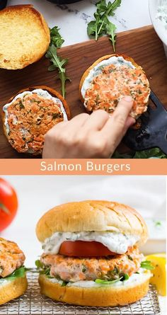 Crockpot Recipes, Soup Recipes, Vegetarian Recipes, Cooking Recipes, Healthy Burger Recipes, Healthy Recipe Videos, Salmon Recipes, Fish Recipes, Seafood Recipes