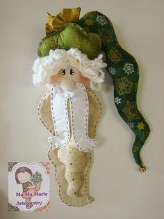 Noel enfeite de porta...