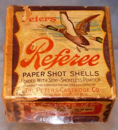 Peters paper shot gun shells