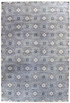 Transitional Rugs Gallery: Transitional Rug, Hand Knotted In India; Size: 10