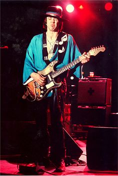 Stevie Ray Vaughn--great blues guitarist