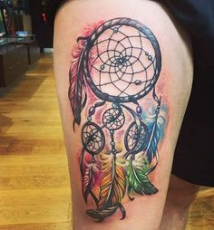 Dreamcatcher done by Suuva in Loud Ink Drogheda Ireland.