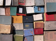 books from above by virginhoney, via Flickr