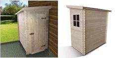 134 / 224 Deco, Shed, Outdoor Structures, Exterior Homes, Cabin, Decor, Deko, Decorating