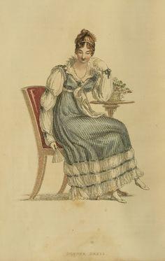 EKDuncan - La mia Fanciful Muse: Regency Era Fashions - Repository di Ackermann 1815