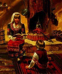 Image result for СКАЗАНИЕ ЗА ХАН АСПАРУХ КНЯЗ СЛАВ И ЖРЕЦА ТЕРЕС vasil goranov