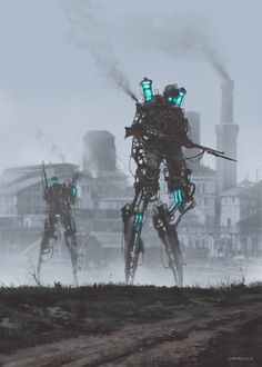 ArtStation - 1920 - dark infantry, by Jakub RozalskiMore concept art here.