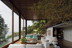 The Balcony House with Large Glass Panels: AMB House, São Paulo   DesignRulz.com