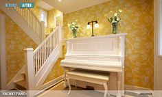 I may consider repainting my hubby's childhood piano. My young daughter starts lessons this week... the next generation :)