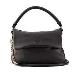 Mr Gator Twist Black Handbag