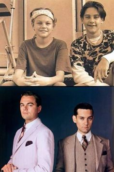 Their sense of style grew up. Yours should too.  Leo and Toby.