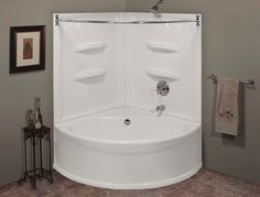 Tub shower combination on pinterest bathtub shower tubs for Lyons whirlpool tub