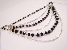 Diamante Chic Double Hijab Pin | Hijab Pin Shop hijab pins upside that we lagate na wo  Km Zipper Jewelry, Beaded Jewelry, Beaded Necklace, Beaded Bracelets, Hijab Pins, Beaded Brooch, Crystal Rhinestone, Wedding Jewelry, Glass Beads
