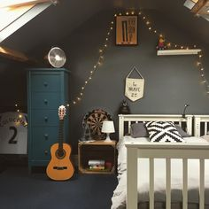 Boys bedroom, industrial decor, dark interiors teenage girl bedrooms, older