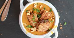 Gotta try some of these! The Thai Peanut Soup and Peanut Butter Chicken Chili look like the most fun. | 50 Healthier Peanut Butter Recipes You've Never Tried Before