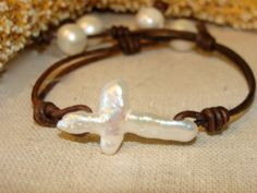 pearls and crosses