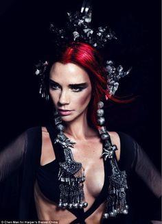 Smartologie: Victoria Beckham for Harper's Bazaar China May 2012