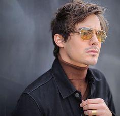 source for Tyler Blackburn Mirrored Sunglasses, Mens Sunglasses, Tyler Blackburn, American Actors, Singer, Celebrities, Model, Beauty, Friday