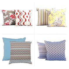 Almofadas Decorativas - http://casamenteiras.com.br/2014/06/05/almofadas-decorativas/