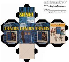 Mini TARDIS Toy Box by ~CyberDrone on deviantART