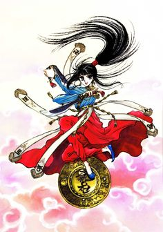 Tags: CLAMP, Scan, Chunhyang, Legend of Chun Hyang, CLAMP North Side, Official Art