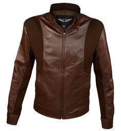 Bunk Classic Leather Jacket, Slim Fit Jackets, Slim Man, Vintage Fashion, Vintage Style, Nike Air Force, Brown Leather, Leather Jackets, Fitness