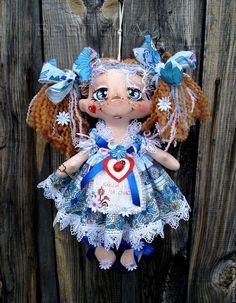 Сказочные персонажи ручной работы. Ярмарка Мастеров - ручная работа. Купить Кукла на Счастье. Именная по желанию.. Handmade. Интерьерная кукла