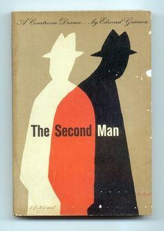 "TypeToy - Graphic Finds ""The Second Man"" cover by Alvin Lustig"