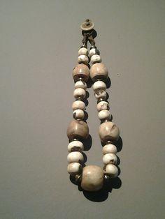 Oud Vintage Boheemse ketting-Naga Tribes,   elegante conus schelpen…
