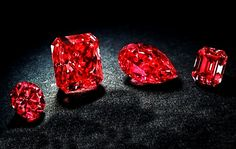 There are only 30 known red diamonds in the world.