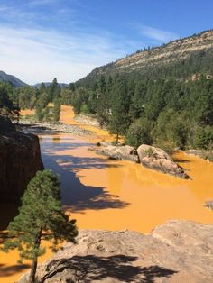 This Colorado river is not supposed to be bright orange | Fusion