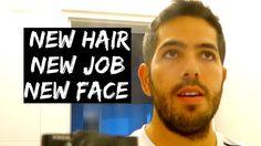NEW HAIR, NEW JOB, NEW FACE