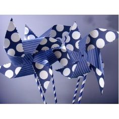Paper Straws Pack of 144- Navy Blue