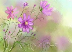 Как рисовать цветы акварелью поэтапно