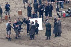 Celebrities filming scenes on the set of 'Game Of Thrones' season 7 in Bilbao, Spain on October 27, 2016.  Pictured: Emilia Clarke, Kit Harington, Nathalie Emmanuel, Peter Dinklage, Liam Cunningham