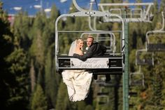 Lake Tahoe ski resort wedding at @skihomewood by @drozianphotos and @artnbloomfloral