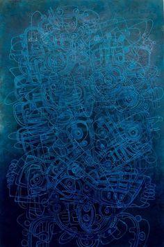 Artist : Manuel Miguel, Title : De la serie dinamismos lineales. Para mayor información: https://www.facebook.com/pg/MADartmx/photos/?tab=album&album_id=995476873796067