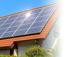 Solar panels can be added to your metal roof to save money