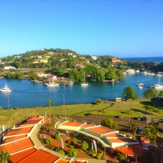 Beautiful day in St Lucia