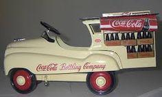 Rare pedal delivery truck