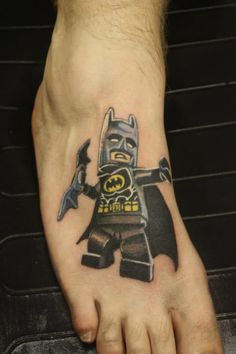 Lego Batman tattoo