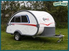 Caravan For Sale: ROADCHIEF Teardrop Caravan >>> Compact caravan with fresh water & grey water tanks, water pump, kitchen facility, comfy seating & ab. Teardrop Caravan, Caravans For Sale, Water Tank, Motorhome, View Photos, Fresh Water, Camper, Outdoor Structures, Vehicles