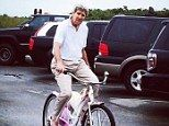 "John Kerry, the pseudo-French boy and incompetent ""Secy of State"" riding a woman's bike while vacationing with his money-bags wife on Nantucket while the Middle East fries and Generals die. Boobama will be on nearby M.V. in a rental on August 9 avoiding his job, as usual, and ruining other people's vacations, meaning time off for people who actually have jobs and do work. Novel idea that B.O. has never grasped and never will. Can't even prove he went to college which should tell you…"