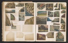 An Artist's Strangely Compelling 1960s Scrapbook of Comic Book Art