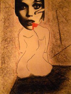"Saatchi Online Artist Leni Smoragdova; Collage, ""щш-8-7нщпншоа"" #art"