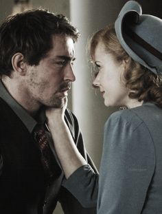 Lee Pace with Amy Adams in Miss Pettigrew Lives for a Day, 2008.