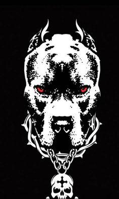 Pitbull Wallpaper, Pitbull Drawing, Reaper Drawing, Bulldog Mascot, Bulldog Cartoon, Native Tattoos, Wicked Tattoos, Samurai Artwork, Joker Art