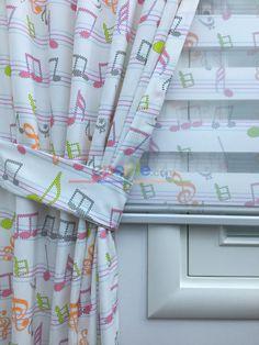 Renkli Notalar,Müzik Desen Desen Fon Perde