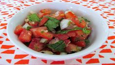 Pico de Gallo is ideal for serving with your favorite Mexican dishes.