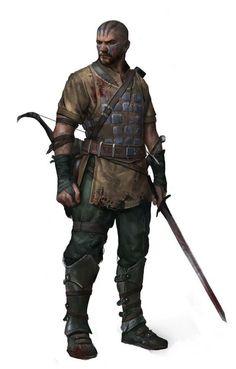 m Ranger Leather Sword 6thlvl Skeribar